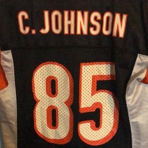 Cincinnati Bangles Chad Johnson Jersey